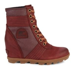Sorel Shoes - New SOREL Lexie Waterproof Wedge Snow Boots